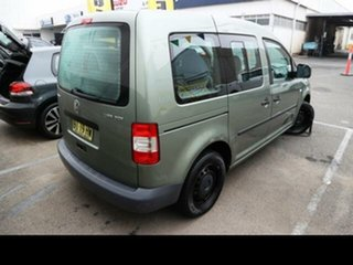 2006 Volkswagen Caddy 2K Life Green 6 Speed Direct Shift Wagon