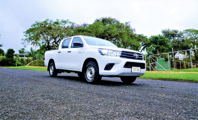 Used Toyota Hilux  , 2016 Toyota Hilux White 5 Speed Manual Dual Cab