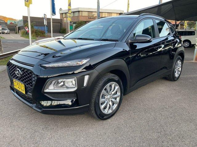 Used Hyundai Kona OS.2 MY19 Go 2WD, 2018 Hyundai Kona OS.2 MY19 Go 2WD Black 6 Speed Sports Automatic Wagon