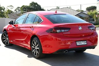 2017 Holden Commodore ZB MY18 RS Liftback AWD Red 9 Speed Sports Automatic Liftback.