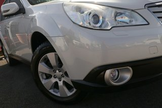 2011 Subaru Outback B5A MY11 2.5i Lineartronic AWD Premium White 6 Speed Constant Variable Wagon.