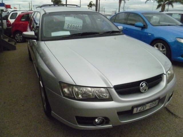 Used Holden Commodore VZ MY06 SVZ, 2006 Holden Commodore VZ MY06 SVZ Silver 4 Speed Automatic Wagon