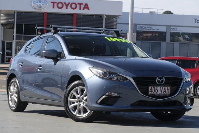 Used Mazda 3 BM5478 Maxx SKYACTIV-Drive, 2014 Mazda 3 BM5478 Maxx SKYACTIV-Drive Blue 6 Speed Sports Automatic Hatchback