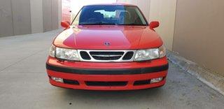 2000 Saab 9-5 S Red 4 Speed Automatic Sedan.
