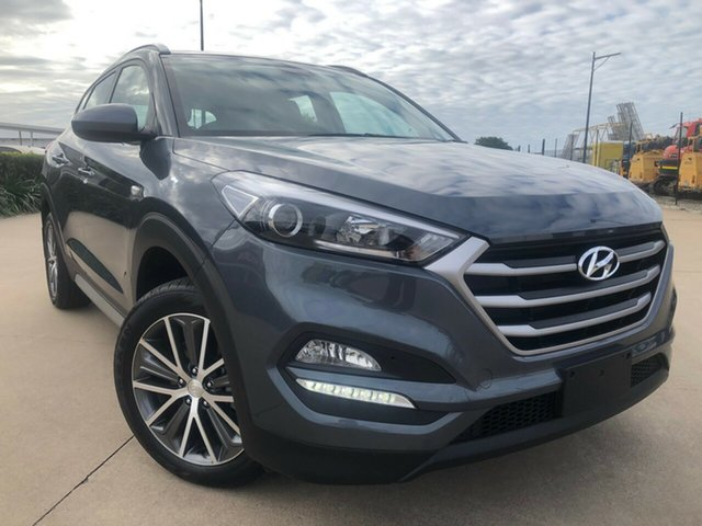 Used Hyundai Tucson TLE Active 2WD, 2016 Hyundai Tucson TLE Active 2WD Grey 6 Speed Sports Automatic Wagon