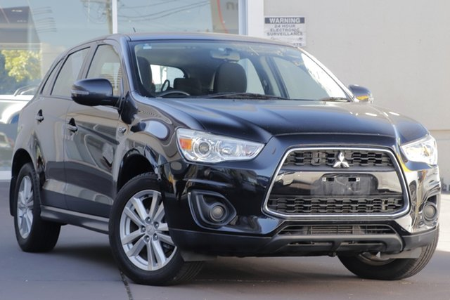 Used Mitsubishi ASX XB MY14 , 2013 Mitsubishi ASX XB MY14 Black 6 Speed Sports Automatic Wagon