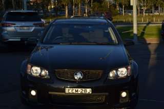 2011 Holden Commodore VE II SV6 Sportwagon Black 6 Speed Sports Automatic Wagon.