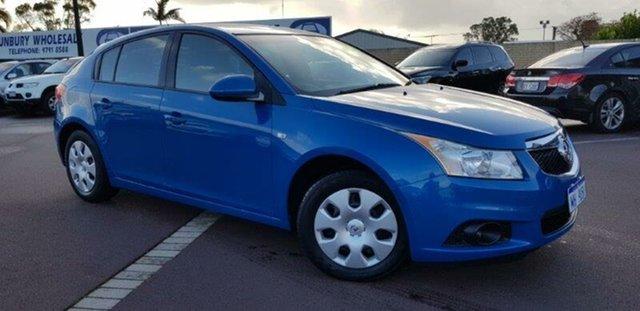 Used Holden Cruze JH Series II MY12 CD, 2011 Holden Cruze JH Series II MY12 CD Blue 6 Speed Sports Automatic Hatchback