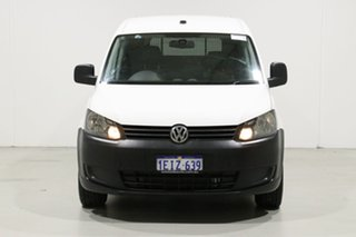 2013 Volkswagen Caddy 2K MY13 Maxi TDI250 White 7 Speed Auto Direct Shift Van.