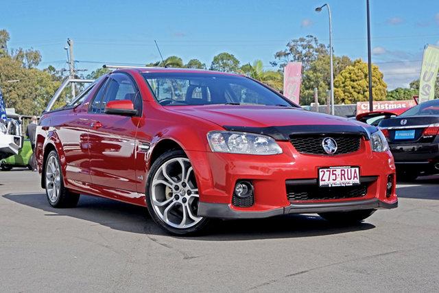 Used Holden Ute VE II SV6 Thunder, 2011 Holden Ute VE II SV6 Thunder Red 6 Speed Manual Utility