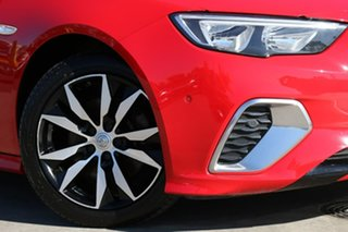 2017 Holden Commodore ZB MY18 RS Liftback AWD Red 9 Speed Sports Automatic Liftback