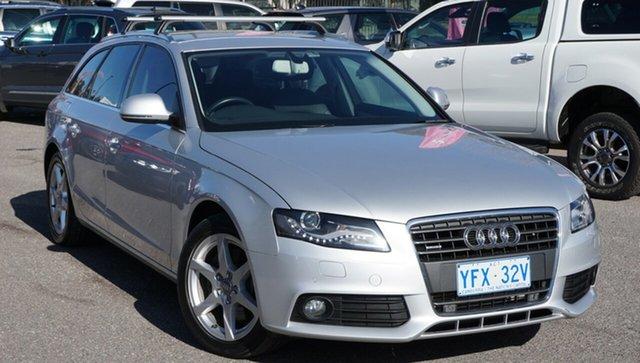 Used Audi A4 B8 8K Avant Multitronic, 2009 Audi A4 B8 8K Avant Multitronic Silver 8 Speed Wagon