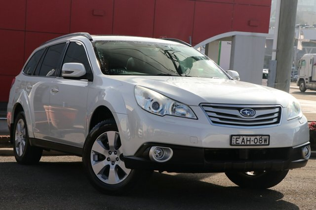 Used Subaru Outback B5A MY11 2.5i Lineartronic AWD Premium, 2011 Subaru Outback B5A MY11 2.5i Lineartronic AWD Premium White 6 Speed Constant Variable Wagon