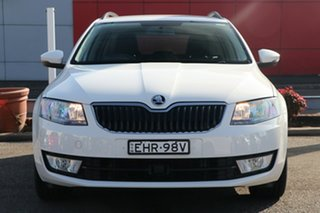 2016 Skoda Octavia NE MY16 Ambition Sedan 110TSI White 6 Speed Manual Liftback