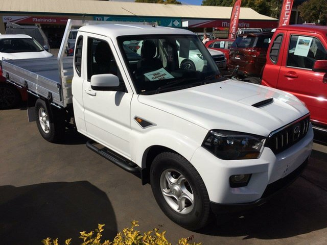 New Mahindra Pik-Up S10 MY18 2WD, 2018 Mahindra Pik-Up S10 MY18 2WD White 6 Speed Manual Utility