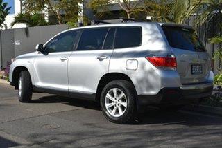 2011 Toyota Kluger GSU45R MY11 KX-R AWD Silver 5 Speed Sports Automatic Wagon.