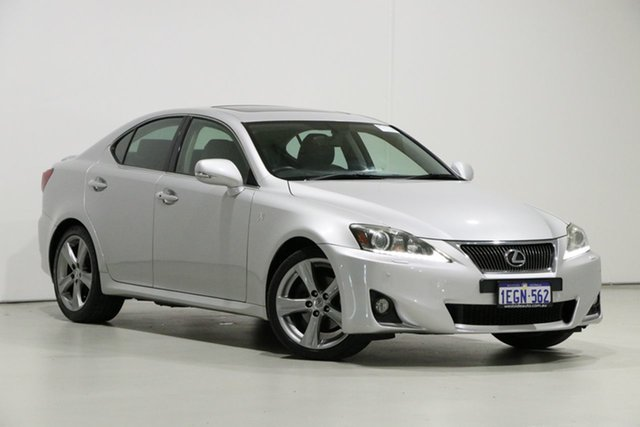 Used Lexus IS250 GSE20R MY11 Update X Special Edition, 2013 Lexus IS250 GSE20R MY11 Update X Special Edition Silver 6 Speed Auto Sequential Sedan
