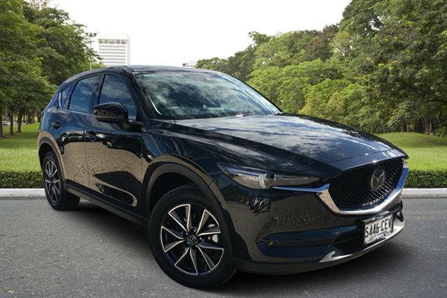 Demo Mazda CX-5 KF4WLA GT SKYACTIV-Drive i-ACTIV AWD, 2019 Mazda CX-5 KF4WLA GT SKYACTIV-Drive i-ACTIV AWD Jet Black 6 Speed Sports Automatic Wagon