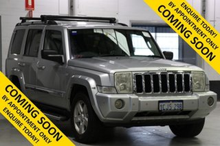 2006 Jeep Commander XH Limited Silver 5 Speed Automatic Wagon.