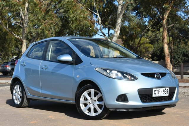 Used Mazda 2 DE10Y1 Maxx, 2008 Mazda 2 DE10Y1 Maxx Blue 5 Speed Manual Hatchback