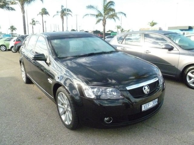 Used Holden Calais VE MY09.5 V Sportwagon, 2009 Holden Calais VE MY09.5 V Sportwagon Black 5 Speed Sports Automatic Wagon