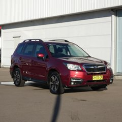 2016 Subaru Forester S4 MY17 2.5i-L CVT AWD Red 6 Speed Constant Variable Wagon.