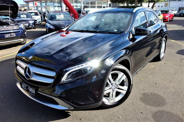 Used Mercedes-Benz GLA-Class X156 806MY GLA200 d DCT, 2015 Mercedes-Benz GLA-Class X156 806MY GLA200 d DCT Black 7 Speed Sports Automatic Dual Clutch