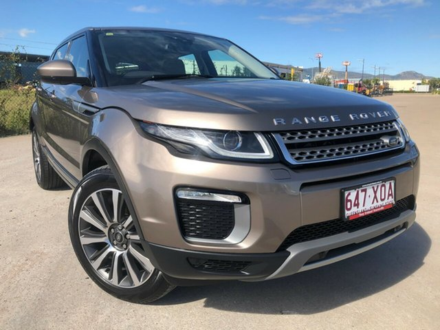 Used Land Rover Range Rover Evoque L538 MY16 TD4 180 SE, 2015 Land Rover Range Rover Evoque L538 MY16 TD4 180 SE Bronze 9 Speed Sports Automatic Wagon