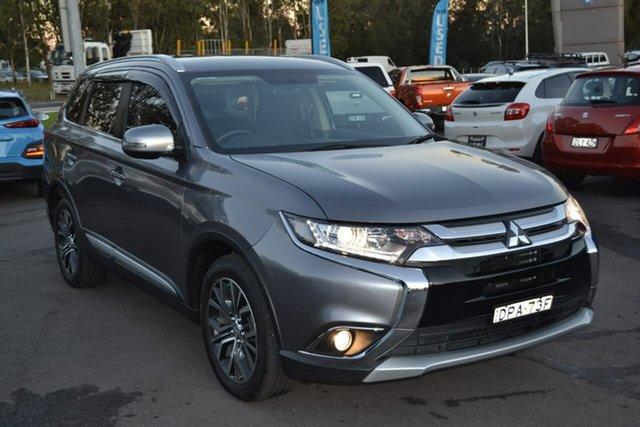 Used Mitsubishi Outlander ZK MY17 LS 4WD, 2017 Mitsubishi Outlander ZK MY17 LS 4WD Grey 6 Speed Wagon