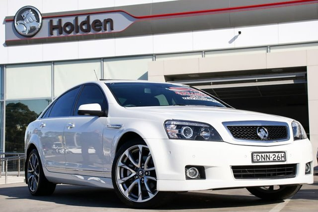 Used Holden Caprice WN II MY17 V, 2017 Holden Caprice WN II MY17 V White 6 Speed Sports Automatic Sedan