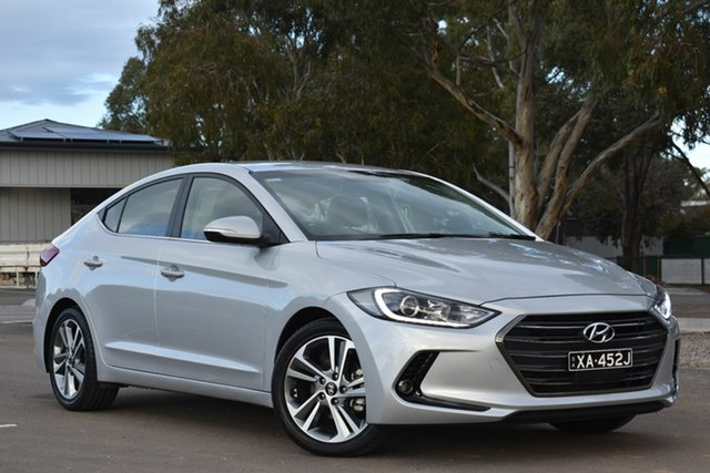 Used Hyundai Elantra AD MY18 Active, 2018 Hyundai Elantra AD MY18 Active Silver 6 Speed Sports Automatic Sedan