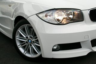 2011 BMW 1 Series 123d White 6 Speed Automatic Coupe.