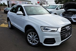 2016 Audi Q3 8U MY16 TFSI S Tronic White 6 Speed Sports Automatic Dual Clutch Wagon.