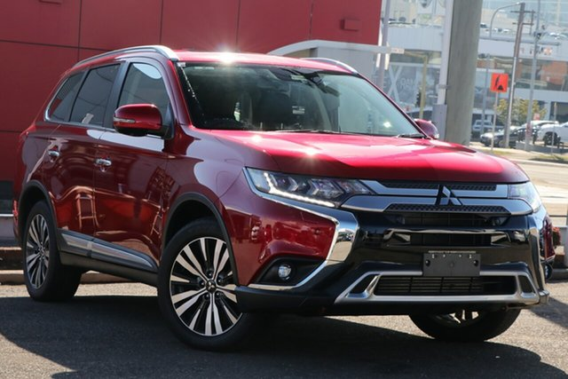 Used Mitsubishi Outlander ZL MY19 Exceed AWD, 2019 Mitsubishi Outlander ZL MY19 Exceed AWD Red 6 Speed Wagon