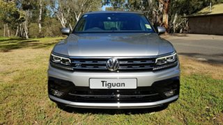 2020 Volkswagen Tiguan 5N MY20 162TSI DSG 4MOTION Highline Tungsten Silver 7 Speed.