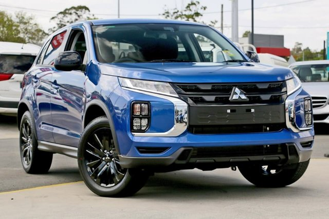 Demo Mitsubishi ASX XD MY20 MR 2WD, 2019 Mitsubishi ASX XD MY20 MR 2WD Lightning Blue 1 Speed Constant Variable Wagon