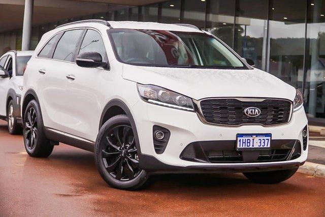 Used Kia Sorento UM MY20 Black Edition, 2019 Kia Sorento UM MY20 Black Edition White 8 Speed Sports Automatic Wagon