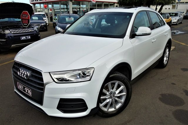 Used Audi Q3 8U MY16 TFSI S Tronic, 2016 Audi Q3 8U MY16 TFSI S Tronic White 6 Speed Sports Automatic Dual Clutch Wagon