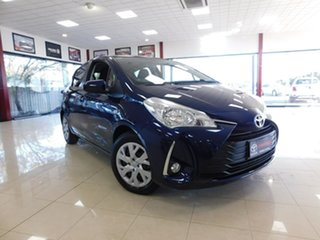 2019 Toyota Yaris NCP131R SX Blue 4 Speed Automatic Hatchback.