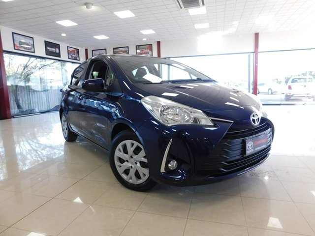 Used Toyota Yaris NCP131R SX, 2019 Toyota Yaris NCP131R SX Blue 4 Speed Automatic Hatchback