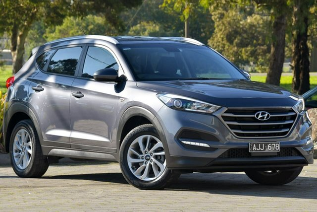 Used Hyundai Tucson TLE Active 2WD, 2015 Hyundai Tucson TLE Active 2WD Grey 6 Speed Sports Automatic Wagon
