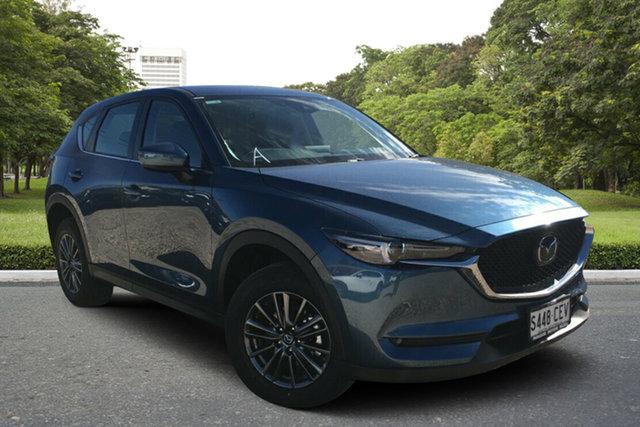 Demo Mazda CX-5 KF4WLA Maxx SKYACTIV-Drive i-ACTIV AWD Sport, 2020 Mazda CX-5 KF4WLA Maxx SKYACTIV-Drive i-ACTIV AWD Sport Eternal Blue 6 Speed Sports Automatic