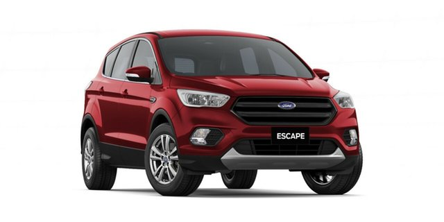 New Ford Escape ZG 2019.75MY Ambiente 2WD, 2019 Ford Escape ZG 2019.75MY Ambiente 2WD Ruby Red 6 Speed Sports Automatic Wagon