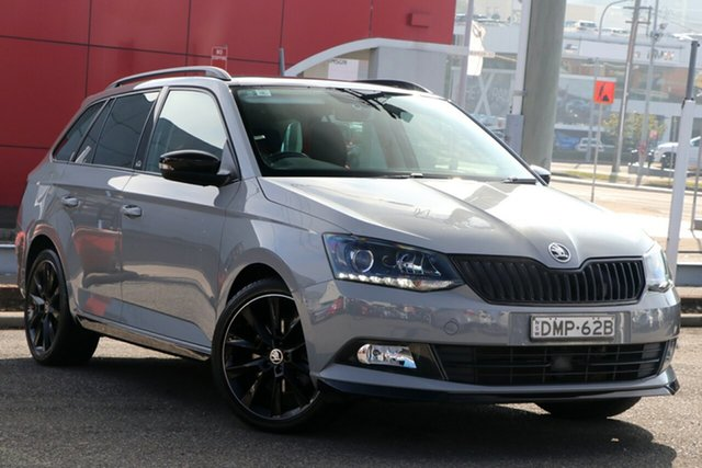Used Skoda Fabia NJ MY17 81TSI DSG Monte Carlo, 2017 Skoda Fabia NJ MY17 81TSI DSG Monte Carlo Grey 7 Speed Sports Automatic Dual Clutch Hatchback