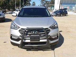 2016 Hyundai Santa Fe DM3 MY16 Active Sleek Silver 6 Speed Sports Automatic Wagon.