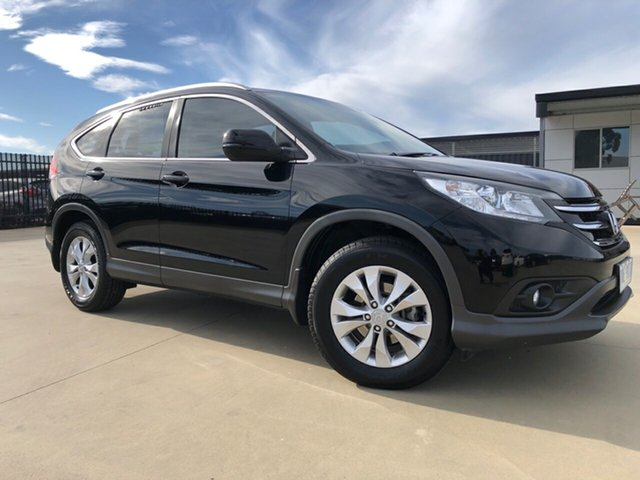 Used Honda CR-V RM VTi-S 4WD, 2013 Honda CR-V RM VTi-S 4WD Crystal Black Pearl 5 Speed Automatic Wagon