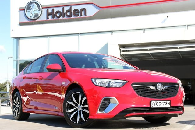 Used Holden Commodore ZB MY18 RS Liftback AWD, 2017 Holden Commodore ZB MY18 RS Liftback AWD Red 9 Speed Sports Automatic Liftback