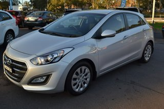 2015 Hyundai i30 GD4 Series II MY16 Active DCT Silver 7 Speed Sports Automatic Dual Clutch Hatchback.