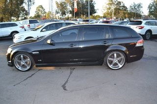 2011 Holden Commodore VE II SV6 Sportwagon Black 6 Speed Sports Automatic Wagon