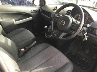 2013 Mazda 2 DE MY13 Maxx Grey 5 Speed Manual Hatchback